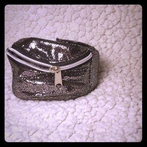 Glamorous Wrist Wallet in Silver by Avon